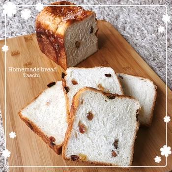 レーズンキャラメリゼ食パン
