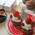 【バレンタインデー】混ぜるだけで超簡単!グルテンフリーチョコカップケーキ♪