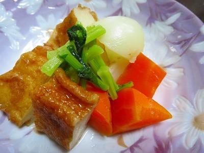 野菜とさつま揚げの優しい煮物