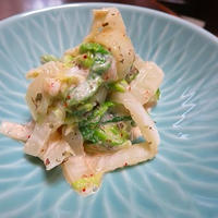 白菜の明太マヨ和え