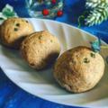 青葱とごま油のはったい粉パン作り