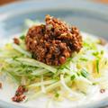 冷やし豆乳タンタン麺 、 豆乳に簡単スープ 、 中華風冷製肉味噌