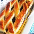 ■【餡子と南瓜のサンドパイ】 市販のパイ生地使いで簡単!!