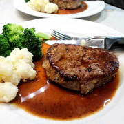 安いステーキの食べ方/ じいさんは何故見せたがるのか