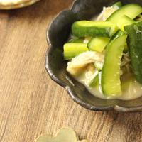 「ハウス梅肉で常備菜♪きゅうりとえのきの梅肉合え」【スパイス大使】(レシピ)