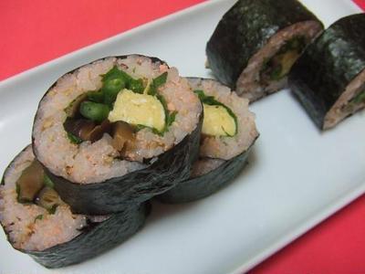 たらこご飯で♪巻き寿司♪恵方巻きにも!