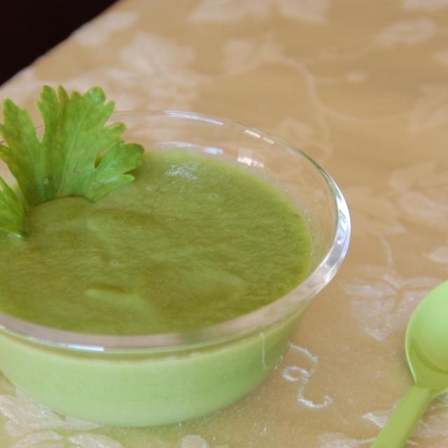 67. セロリの葉のスープ