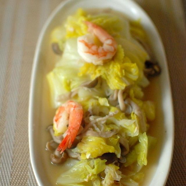 白菜とエビのトロトロ煮