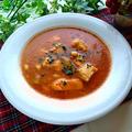 忙しい年末に♪市販のパスタソースと炊飯器で!鶏肉とごぼうのトマトスープ