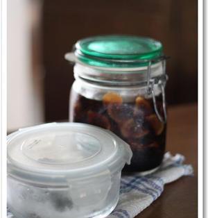 保存食☆新生姜の醤油漬け/大葉の塩漬け