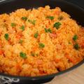作業時間は5分!フライパンひとつ!生米で作る簡単時短ピラフ