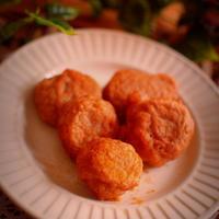 【スパイス大使♪お弁当】味付けカレーパウダーで山芋のふわふわ揚げ