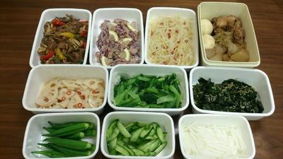 2016/9/25常備菜(大根と鶏肉の煮物 ウーシャンフェン風味、など) * 黒砂糖ラブ
