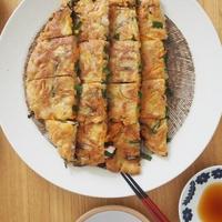 【米油部】野菜たっぷりチヂミ