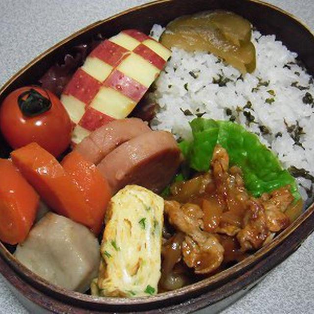 野菜の煮物弁当