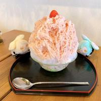 広島県福山市松永にある「こおりやtete」さんでふわふわのかき氷で癒される~パンケーキも有り!!