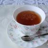 生姜の甘煮入りシナモンティー