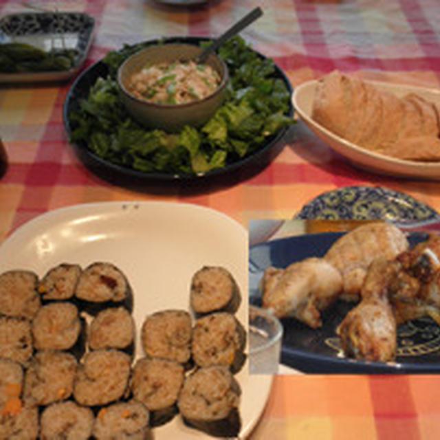ナデシコ ジャパン観戦ランチパーティ ~ 鶏のドラムスティック オーブン焼き