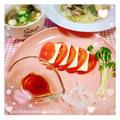 最近のこと*トマトとスライスチーズのカプレーゼ風サラダ