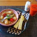 トンガからのワン切り電話の被害・・・根菜風味の鰆とベビー帆立貝のアクアパッアァ♪・・♪