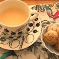 ごぼう茶ラテ