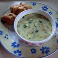 カップスープに野菜ちょい足し 簡単あったかスープの朝食