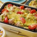 キャベツ1/2玉ぺろり♪鶏肉とキャベツとトマトチーズのコンソメバター風味 by 奥山 まりさん