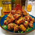 【レシピ】ごぼうとちくわの甘辛味噌ごま炒め