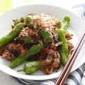 10分で完成!シシトウと牛肉のおかか炒め(レシピ)