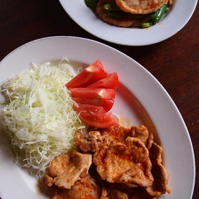 豚ロース肉のメキシカン焼き
