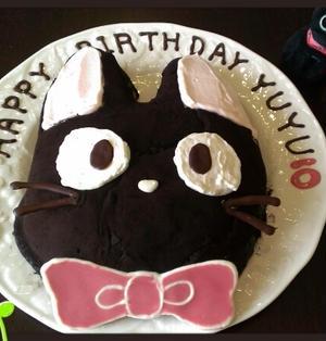 ジシの雪見大福みたいなフルーツケーキ☆お誕生日と感謝の気持ち