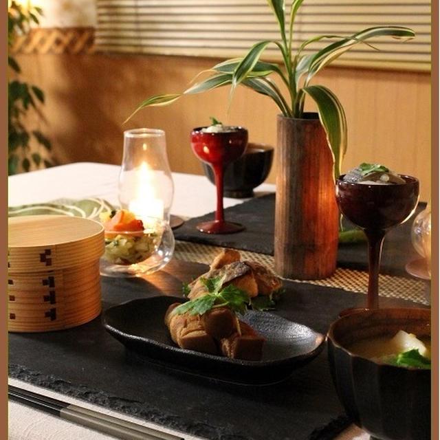 高野豆腐の豚肉巻き♪と、体喜ぶ「和」のおかず