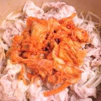 【モニター】 ミツカン味ぽんDE豚キムチ蒸し鍋・・・