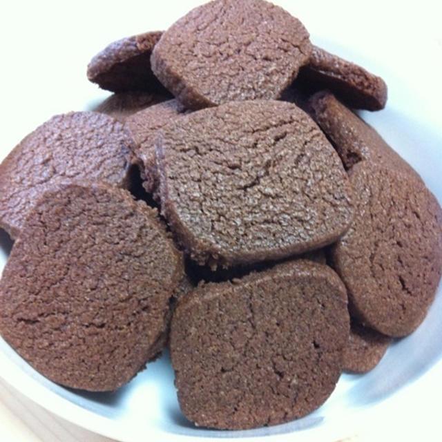 カリカリのココアクッキー