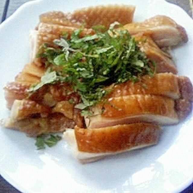 紅茶蜂蜜鶏