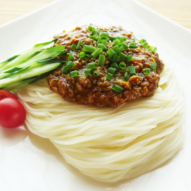 簡単♪ジャージャー素麺