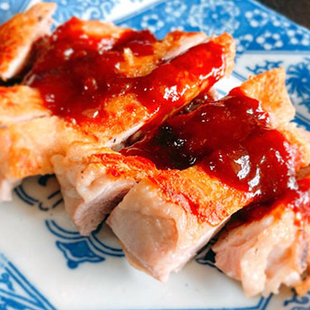 鶏肉のソテー梅ジャムソース