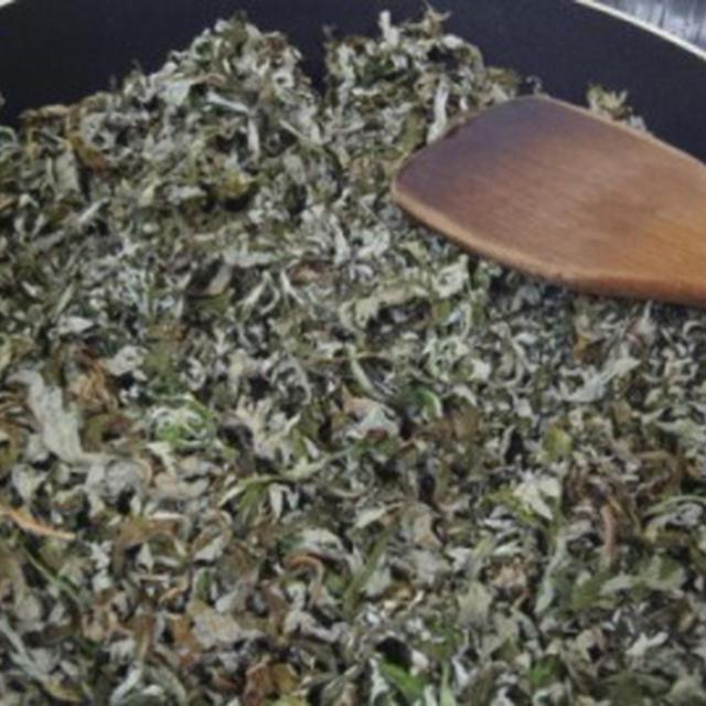 ハーブ茶葉作りー2