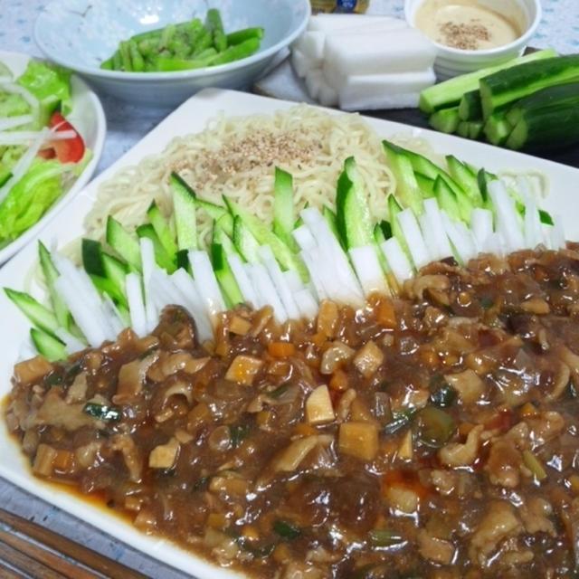 ジャージャー麺♪レシピ付き☆