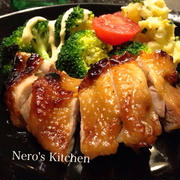 鶏の照焼き〜コンベクションオーブンで簡単!ヘルシー&ジューシー♪