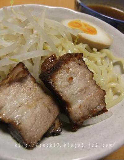 圧力鍋で簡単豚バラ煮&つけ麺
