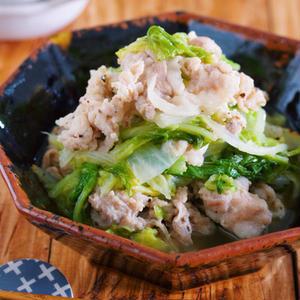 野菜をモリモリ食べられる!「塩だれ」が決め手の豚肉おかず