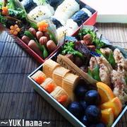 にばんの運動会のお弁当2013