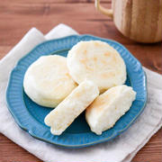フライパンで簡単♪豆乳ヨーグルト米粉パンレシピ!卵なしイーストなしベーキングパウダーでクイックパン