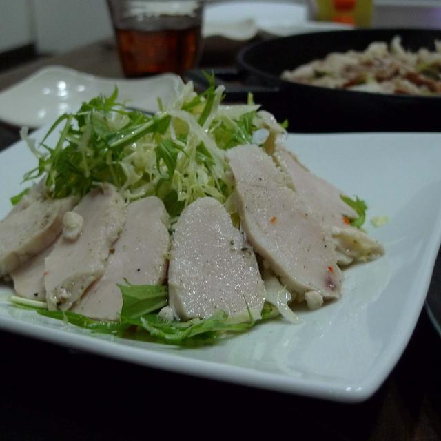 激安鶏胸肉で〜簡単鶏ハム