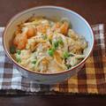 ぷりぷり牡蠣と小海老の天ぷらのとろ~り卵とじ丼 by KOICHIさん