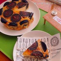 スライスチーズで簡単♪オレオチーズケーキ