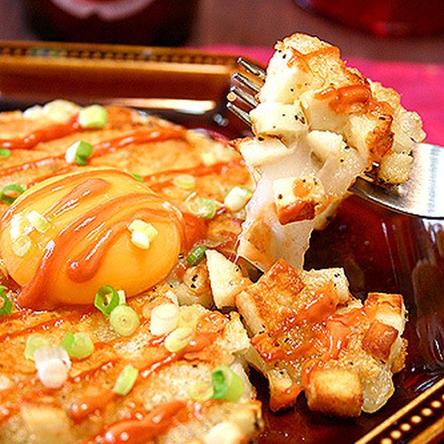 Saitaに掲載のおもちがとろ~りハッシュド長芋のレシピ☆