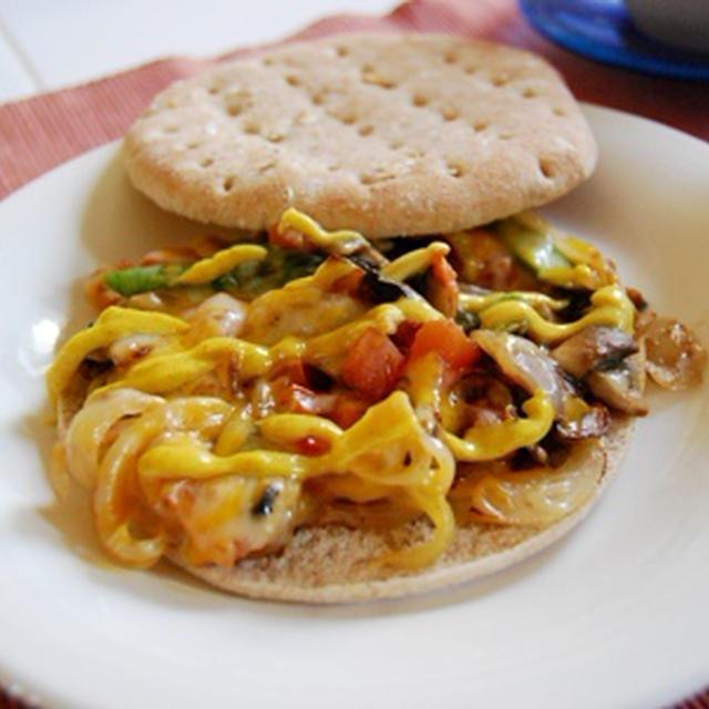Sandwich Thins で変わりサンド