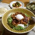 【レシピ】甘辛生姜焼きとろろ丼…試合前日の献立。